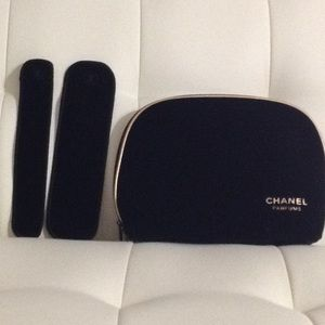 Chanel Makeup bag And pouch 🌑